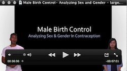 video pic of male birthcontrol